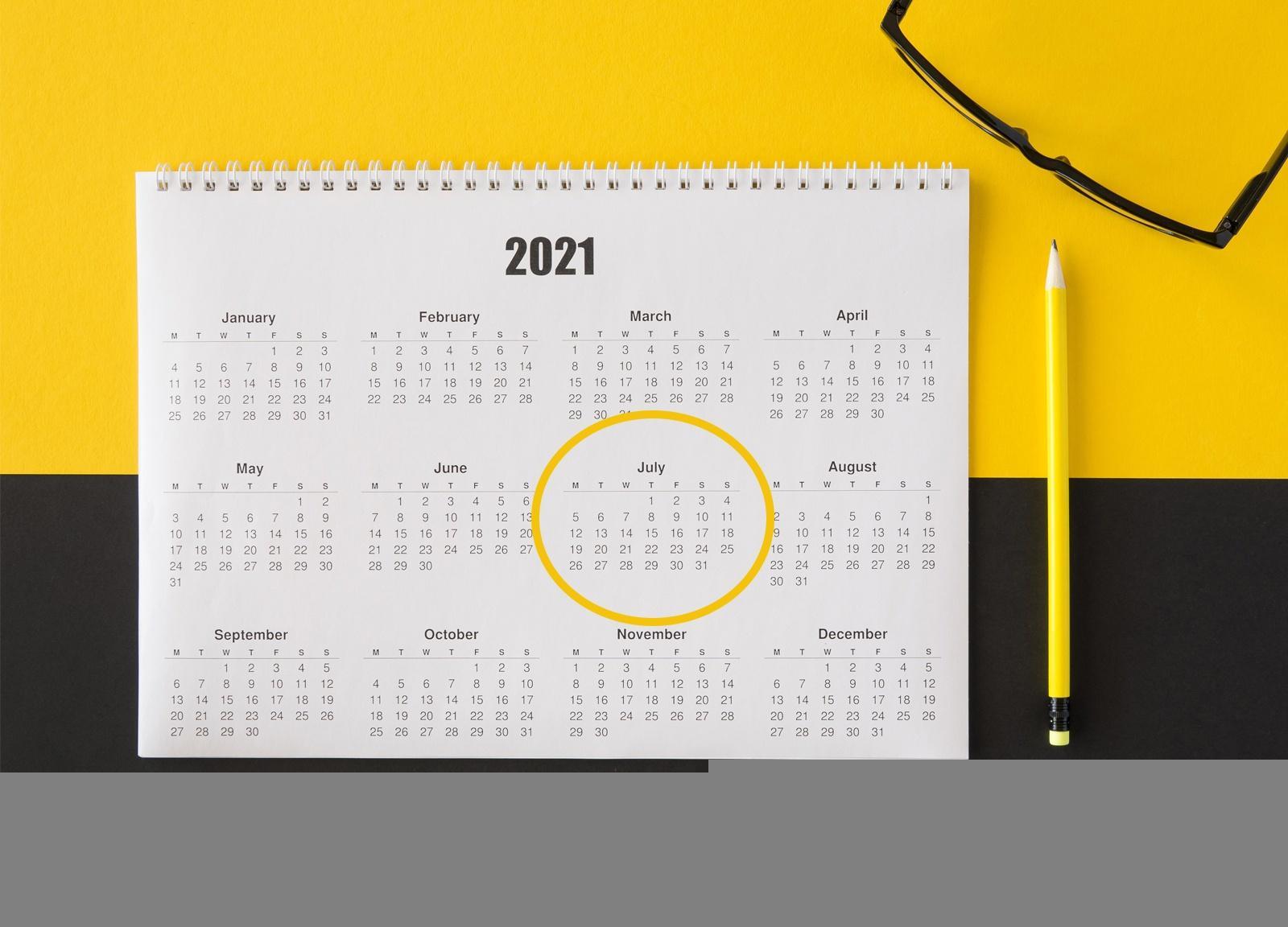 Datas comemorativas de Julho - organize a sua Loja Virtual