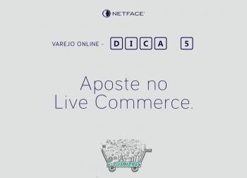 Aposte no Live Commerce.