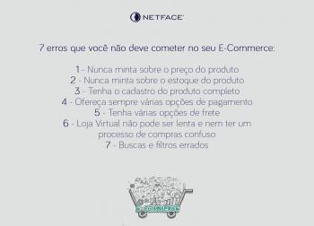 7 erros que você não deve cometer no seu E-Commerce